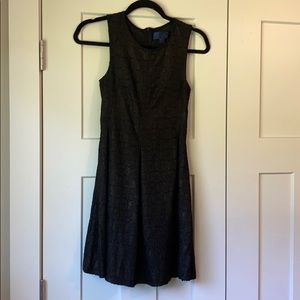 Small Black and Gold High Neck Dress